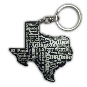 Texas Key Chain w/Bottle Opener