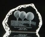 Custom Iceberg Crystal Award (7