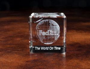 Standard Crystal Cube Award (1 5/8x1 5/8x1 5/8)