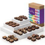 Custom Fairytale Brownies Birthday Magic Morsels 36 (Brown Box w/ Whimsical Band)