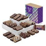 Custom Fairytale Brownie Thank You Sprite 24 in Brown Box