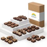 Custom Fairytale Brownies Custom Magic Morsels 36 in Classic Box (Brown/ White)