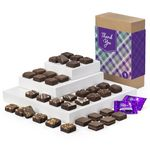 Custom Fairytale Brownies Thank You Magic Morsels 36 in Brown Box