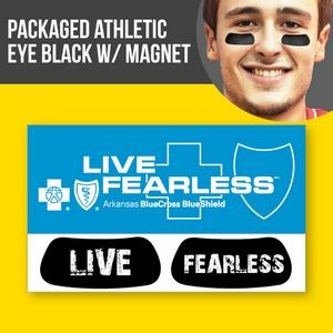 Packaged Athletic Eye Black (1 pair) w/Magnet
