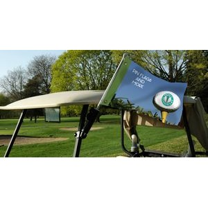 Golf Cart Flag with Hardware