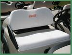 Custom Seat Covers For Golf Carts (2 Piece Set)