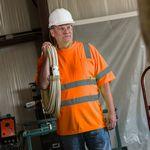 Custom ANSI Class 3 Safety Orange T-shirt