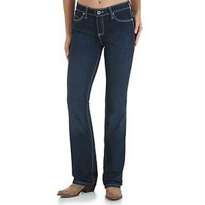 Wrangler® Q-Baby Women's Jeans w/ Booty Up Technology