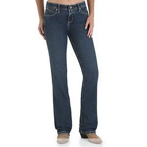 Wrangler® Q-Baby Women's Jeans w/ Booty Up Technology (98% Cotton)