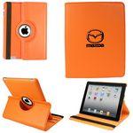 Custom Ipad 360 Case, Faux, Orange