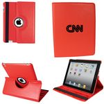 Custom Ipad 360 Case, Faux, Red
