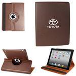 Custom Ipad 360 Case, Faux, Brown