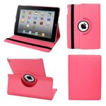 Custom Ipad Pro Case, Faux, Dark Pink
