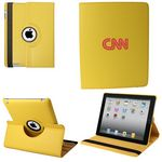Custom Ipad 360 Case, Faux, Yellow