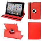 Custom Ipad Air II 360 Case, Faux, Red