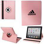 Custom Ipad 360 Case, Faux, Light Pink