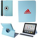Custom Ipad Mini 360 Case, Faux, Light Blue
