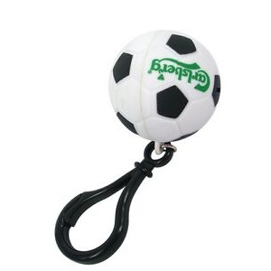 Soccer Ball Sports Projection Key Chain - Color Projection Image