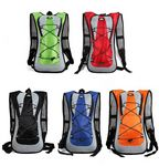 Custom 2 Liter Hydration Backpacks in 5 Colors With One Color Imprint