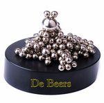 Custom Magnetic Sculpture Desk Toy- 160 Stainless Balls