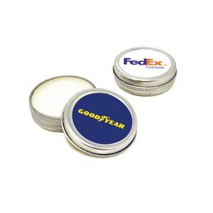 SPF 15 Lip Balm Tin - Peppermint Flavor