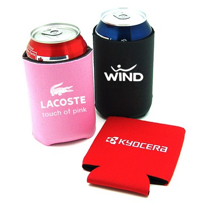 Silkscreened Foam Can Cooler w/ 3 Day Service