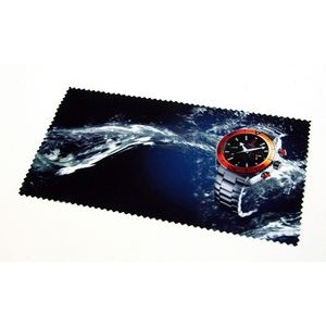 "Full Color Microfiber Cloth - 4"" x 7"""