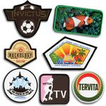 Custom Perfect Print Sublimated Logo Patch (4 1/2