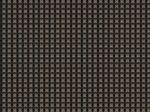 Custom Black w/Pewter Cross-Weave Pattern Vinyl Woven Placemat