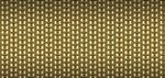 Custom Burnished Gold Woven Vinyl Placemat