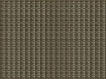 Custom Taupe w/Light Green Cross-Weave Pattern Vinyl Woven Placemat