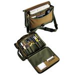 Custom Contractors Briefcase Soft Sided Tool Organizer