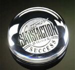 Custom Dome Magnifier Paperweight 3.5