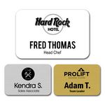 Custom Engraved Plastic Name Badge with Personalization 2