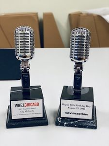 Vintage Microphone Trophy