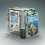 Custom 8-Pocket, 4-Sided Rotating Magazine Holder - Countertop