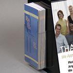 Custom Clear Acrylic Brochure Pocket