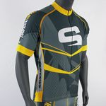 Custom Men's Custom Sublimated Full Zip Cycling Jerseys