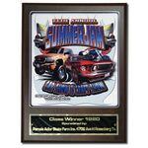 Custom Digital Plaque w/ Laser Engraved Plate (4