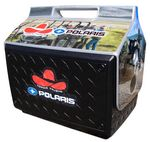 Custom Igloo Playmate Boss Cooler w/ Lid Decoration Black