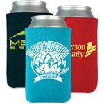 Custom USA Scuba Coolie Screened Beverage Insulator