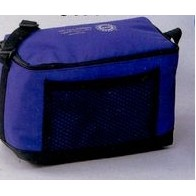 Six-Pack Cooler w/ Mesh Pocket (9 1/2