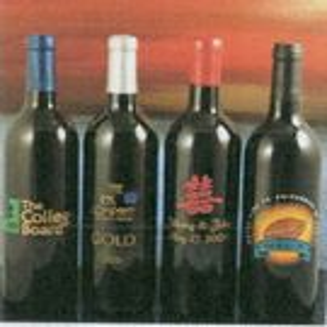 Custom NV Brut/Blanc Gloria Ferrer Bottle of Wine (Deep Etched)