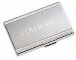 Custom Metal Curved Matte/ Shiny Finish Card Case (22 Card Capacity)