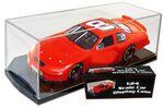 Custom Race Car 1/24th Scale Display Case w/ Black Tilted Base