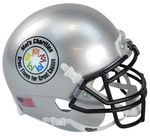 Custom 1/2 Scale Custom Authentic Miniature Football Helmet