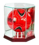 Custom Glass Display Case for Full Size Soccer Ball/Volleyball