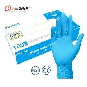 Nitrile Disposable Gloves-M