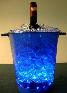 Flashing Ice Bucket