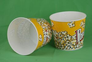 Popcorn Buckets and Tubs